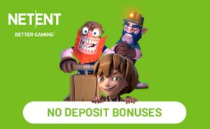 Netent no deposit bonuses